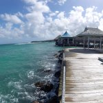 The Pier on the Ochi Beach Club side of the resort
