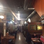 Inside the restaurant at Cafe Cusco.