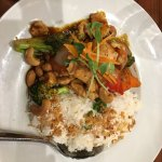 Green Curry and cashew Chicken