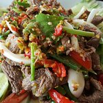 Grilled Beef Spicy Salad ( Yum Neua Yang)