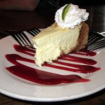 Key Lime Cheesecake $4 Cool & Creamy with Real Key Lime
