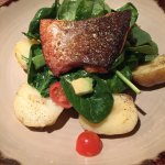 The superb blackened salmon