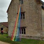 An interpretation of the splitting of light into many colours