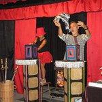 Magia de escenario en el teatro del Museo de la Magia
