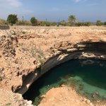 Photo of Bimmah Sink hole