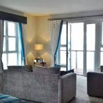 Beautifully furnished room with fantastic views.