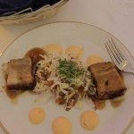 Pork belly with cabbage