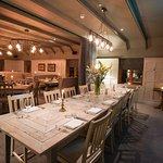 private dining room at The Jack Russell Inn