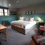 bedroom at The Jack Russell Inn