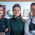 Chef Martin, Manon and Adrien