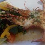 jumbo garlic prawns