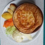Home made chicken pie