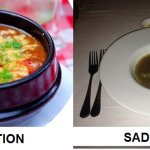 """""""French Onion Soup"""" Expectation from www.tell-restaurant.com vs my experience"""