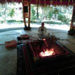 Fire blessing ritual
