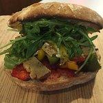 vegan spicy chicken sandwich