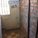 A VIP prisoner's cell (most inmates were held in communcal cells)