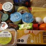 Vegetarian Breakfast Basket