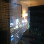 View from the room (Times Square)
