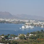 lake palace from the top