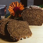Black Bread, made with Coffe Fruit (not beans, but the pulp)