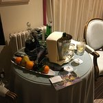 A half bottle of champagne with the dine and stay package