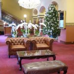 Xmas lobby at The Hotel Windsor - Melbourne (14/Dec/17).