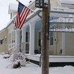 Front/Side View of Main House in Winter