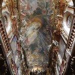 Cosmas' ceiling frescoe.