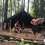 Maori-Dorf Tamaki Foto