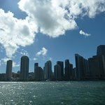 Miami from the boat