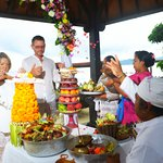 Wedding vow renewal - Hindu blessing