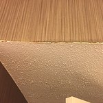 bathroom ceiling and wall