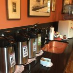 Snack nook- LOVED the sink