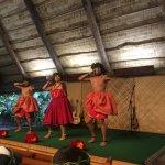 Espectáculo en la representación de la isla de Hawaii