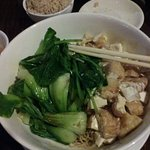 I went back to Mee Noodle. Tried the thin Cantonese Noodle with Bok Choy and Tofu in Soy Sauce.