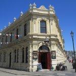 Beautiful limestone historic hotel