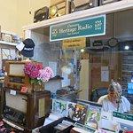 The radio station studio & mini-museum