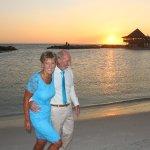 Curaçao sunsets,symbolic wedding at Queens beach at Avila Beach Hotel !