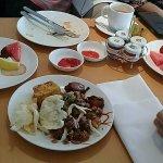 Club Lounge Food