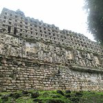 Rear of the main building on Yaxchilan's Gran Acropolis