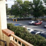 view from balcony Mercure Canberra