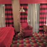 The tartan hotel room