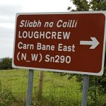 Sign to Loughcrew