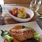 Coconut Chicken & Prawn Curry