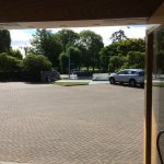 Looking out from entrance over to North Hagley Park