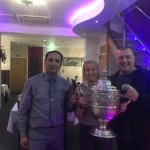 Proud to be the WINNERS of the Whitleybay Town Cup. Est in 1908 Awarded by North Tyneside counci