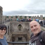 Selfie time looking across to the Blarney Stone