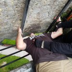 And then my turn to kiss the Blarney Stone