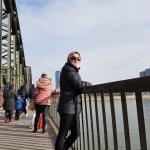 Auf der Hohenzollernbrücke
