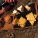 Our lovely cheese board